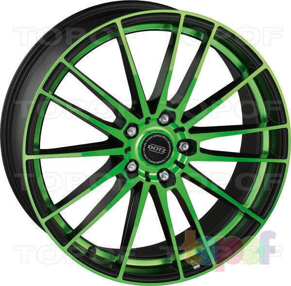 Колесные диски DOTZ Fast Fifteen. Green