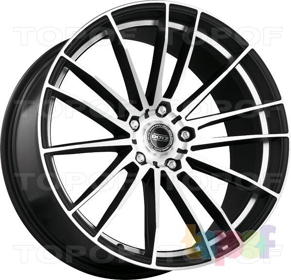 Колесные диски DOTZ Fast Fifteen. Изображение модели #1