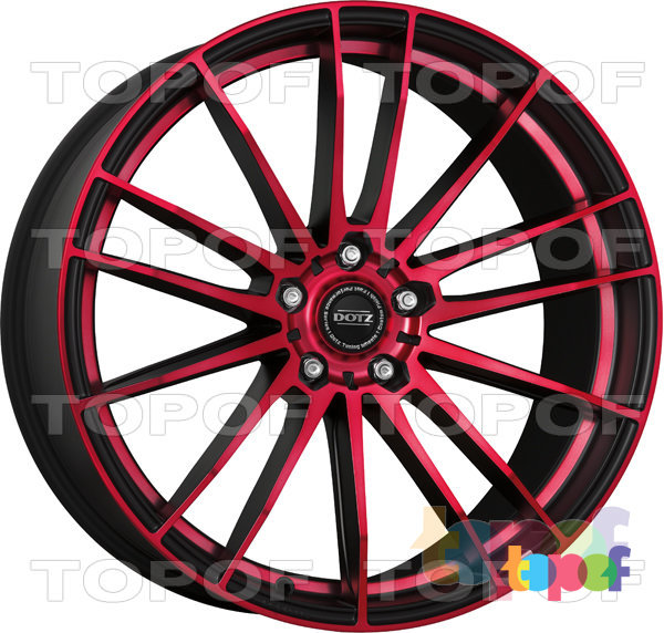 Колесные диски DOTZ Fast Fifteen. Красный