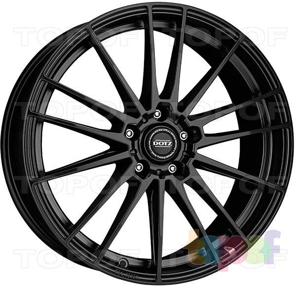 Колесные диски DOTZ Fast Fifteen dark. Изображение модели #1