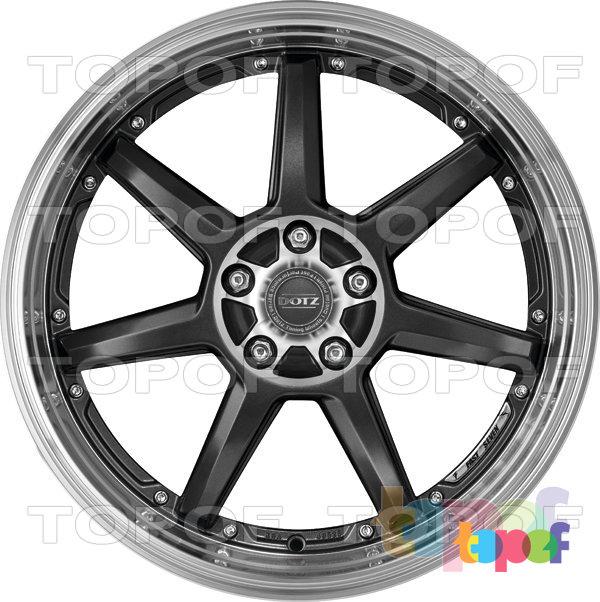 Колесные диски DOTZ Fast Seven. Изображение модели #2