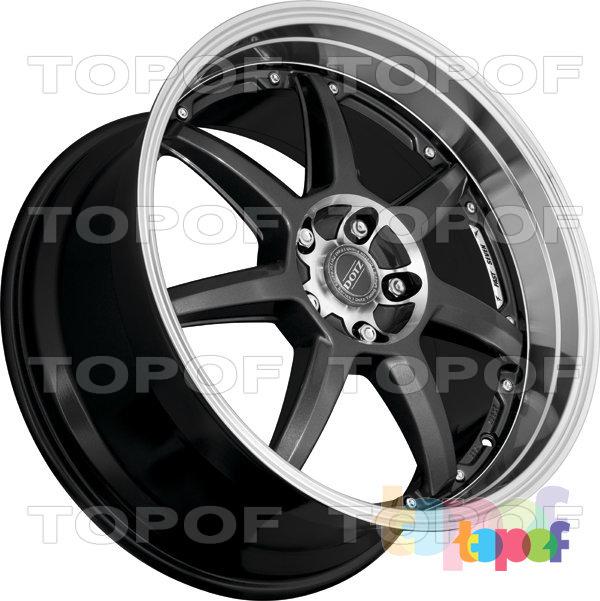 Колесные диски DOTZ Fast Seven. Изображение модели #3