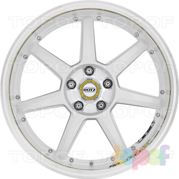 Колесные диски DOTZ Fast Seven drift. Изображение модели #2