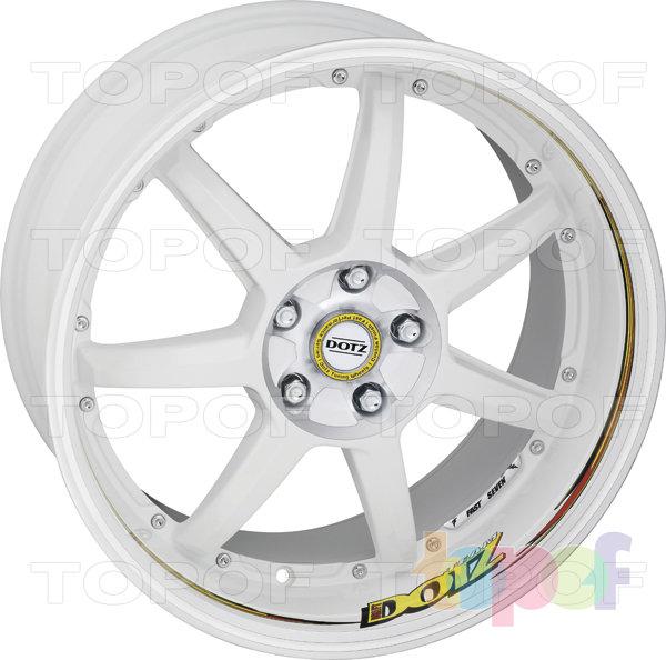 Колесные диски DOTZ Fast Seven drift. Изображение модели #3