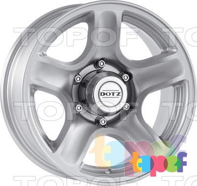 Колесные диски DOTZ Hammada. Изображение модели #1