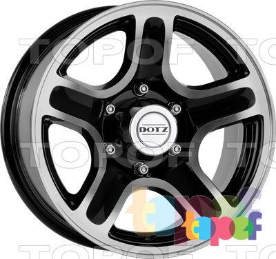 Колесные диски DOTZ Hammada. Изображение модели #2