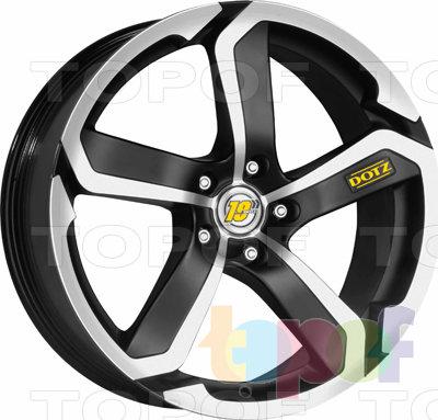 Колесные диски DOTZ Hanzo. Изображение модели #1