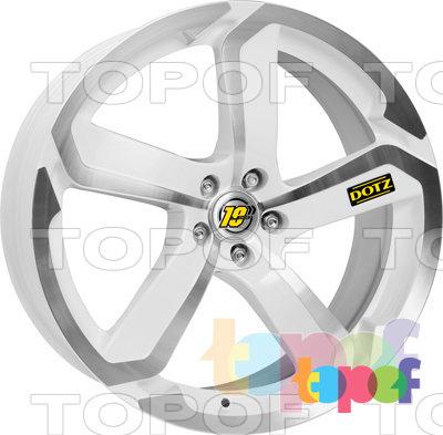 Колесные диски DOTZ Hanzo. Изображение модели #2