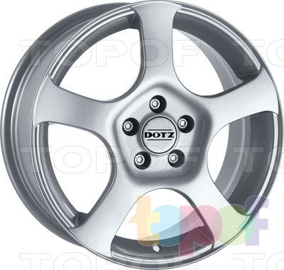 Колесные диски DOTZ Imola. Изображение модели #1