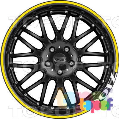 Колесные диски DOTZ Mugello dark. Изображение модели #2