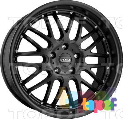 Колесные диски DOTZ Mugello dark. Изображение модели #3
