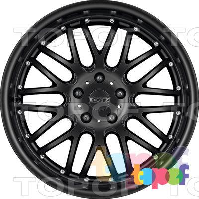 Колесные диски DOTZ Mugello dark. Изображение модели #4