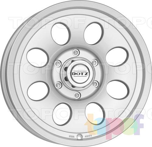 Колесные диски DOTZ Rafting. Изображение модели #3