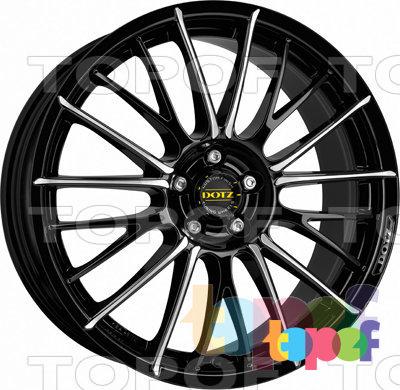Колесные диски DOTZ Rapier. Изображение модели #1