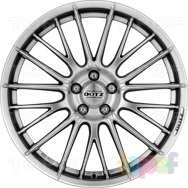 Колесные диски DOTZ Rapier. Внешняя обработка Shine. Модель 2012 года