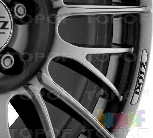 Колесные диски DOTZ Rapier. Внешняя обработка Shine. Колесный диск 2012 года