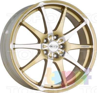 Колесные диски DOTZ Shuriken. Изображение модели #1