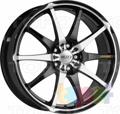 Колесные диски DOTZ Shuriken. Изображение модели #2
