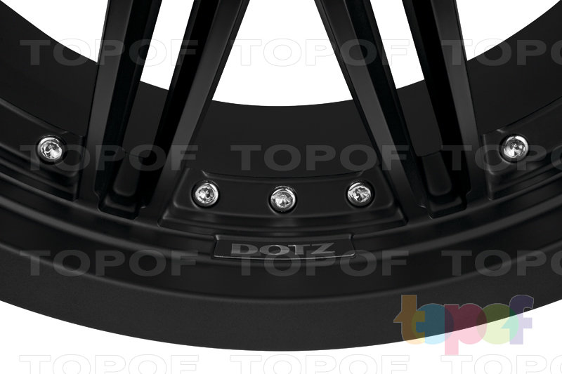 Колесные диски DOTZ Territory dark. Изображение модели #4