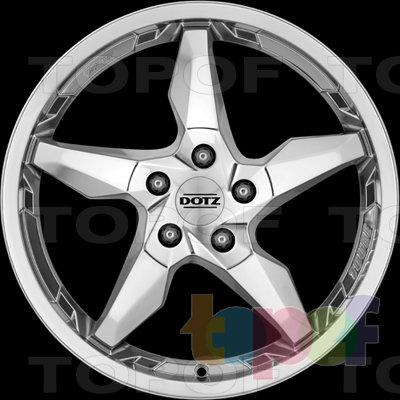 Колесные диски DOTZ Touge blaze. Изображение модели #3