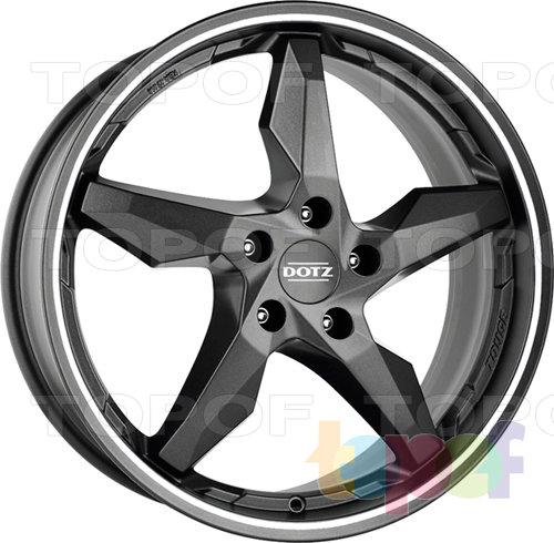 Колесные диски DOTZ Touge Graphite. белый