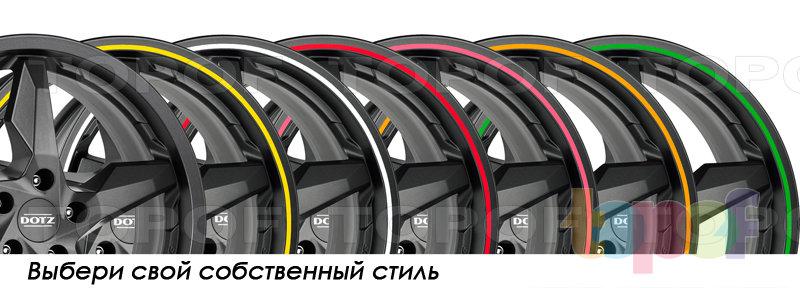 Колесные диски DOTZ Touge Graphite. Выбери свой стиль!
