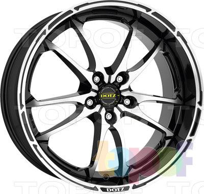 Колесные диски DOTZ Tupac. Изображение модели #1
