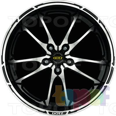 Колесные диски DOTZ Tupac. Изображение модели #2