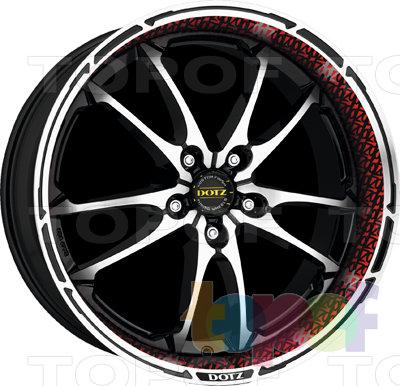 Колесные диски DOTZ Tupac. Изображение модели #3