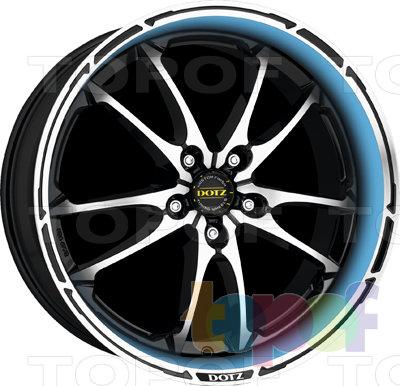 Колесные диски DOTZ Tupac. Изображение модели #4