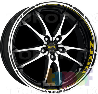 Колесные диски DOTZ Tupac. Изображение модели #5