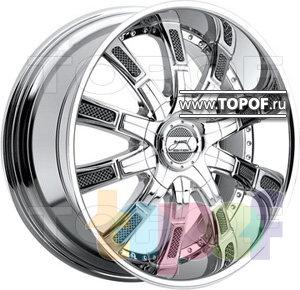 Колесные диски DUB Autobahn. Изображение модели #1