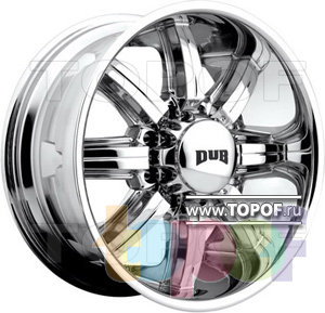 Колесные диски DUB Bomber 8. Изображение модели #1
