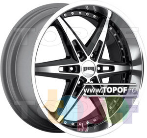 Колесные диски DUB Bully 6. Изображение модели #1
