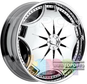 Колесные диски DUB Ganja (спиннер). Изображение модели #1