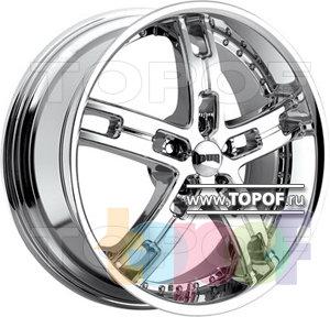 Колесные диски DUB Hustla 5. Изображение модели #1