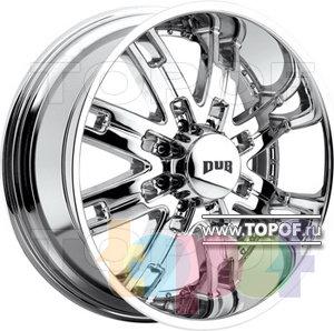 Колесные диски DUB Hustla 8. Изображение модели #1