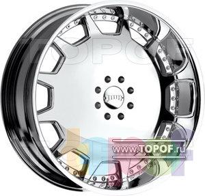 Колесные диски DUB Mogul 30. Изображение модели #1