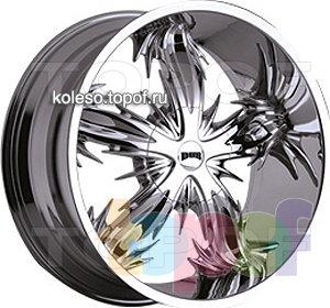 Колесные диски DUB Spine (спиннер). Изображение модели #1