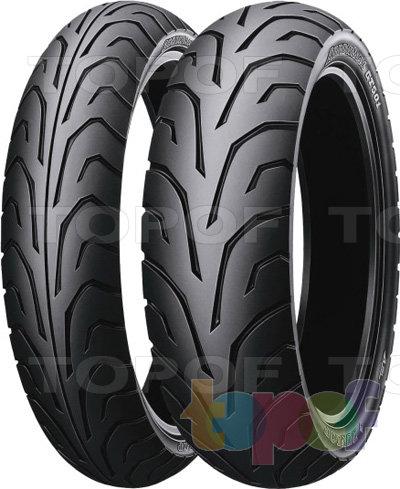 Шины Dunlop Arrowmax GT501. Спортивная шина для мотоцикла