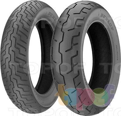 Шины Dunlop D206