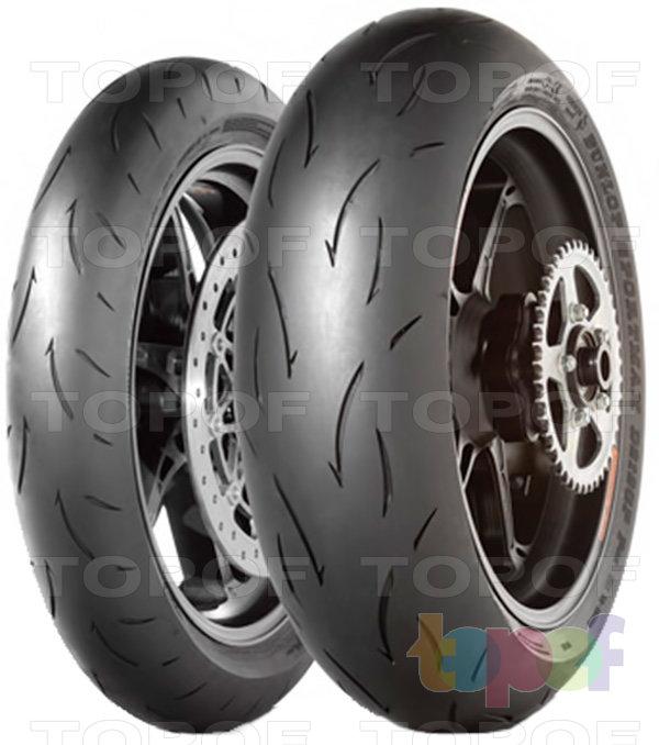 Шины Dunlop D212 GP Pro. Изображение модели #1