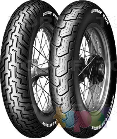 Шины Dunlop D402. Изображение модели #1