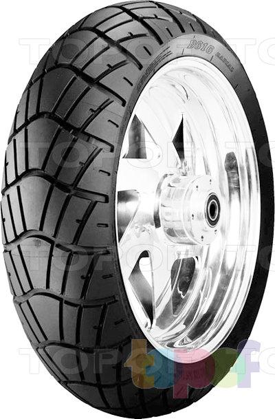 Шины Dunlop D616. Задняя шина
