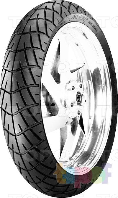 Шины Dunlop D616. Передняя шина