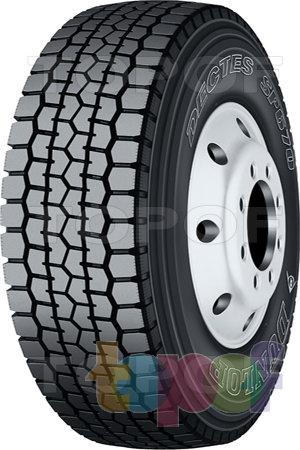 Шины Dunlop Dectes SP670. Изображение модели #1