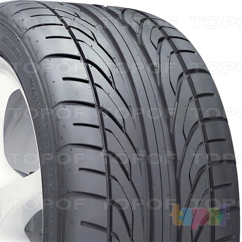 Шины Dunlop Direzza DZ101. Направленный рисунок протектора