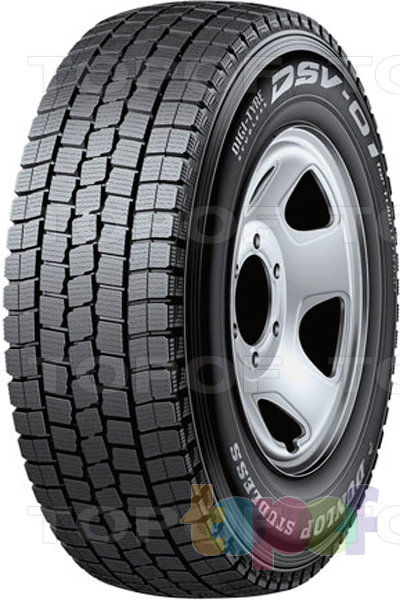 Шины Dunlop DSV-01. Изображение модели #1