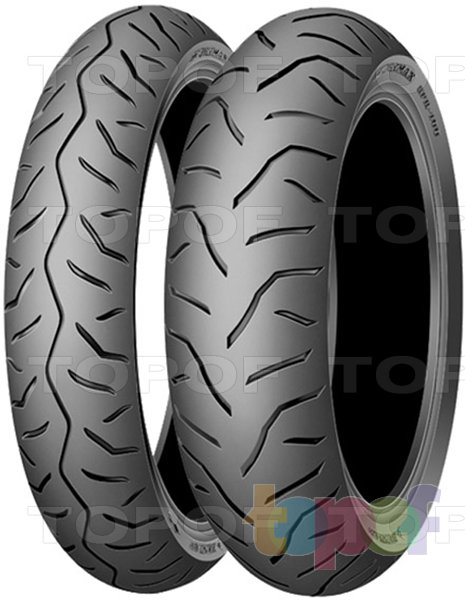 Шины Dunlop GPR 100. Дорожные шины для скутера