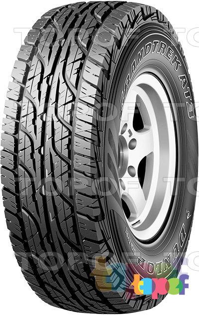 Шины Dunlop Grandtrek AT3. Универсальная шина для внедорожника
